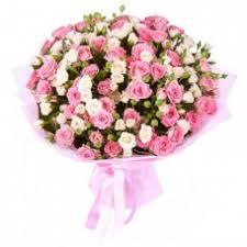 <b>Букет из кустовой</b> розы (21 шт.) Доставка кустовых роз в ...