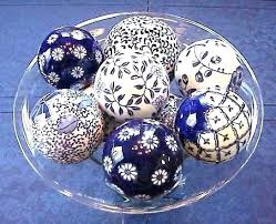 Decorative Bowls With Balls Fascinating Decorative Balls For Bowls Green Sponged Porcelain Decorative Ball