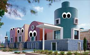 Googly Eye Buildings Googly eyes Building and Architecture