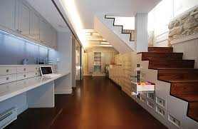 office idea. Home Office Idea For The Basement With Shelves F