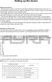 Ita3d 710 Rgb Dmx Laser With 3d Effect User Manual Pdf