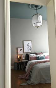 Wandgestaltung Schlafzimmer Lila Und Auch Bei Tag Mit Farbe Farben