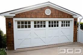 coastal cottage 04 custom architectural garage door