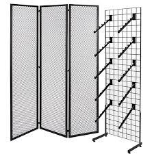 gridwall panels fixtures shelves