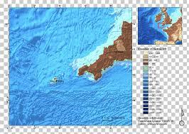 Free Bathymetric Charts British Isles Bathymetry Bathymetric Chart Map Lyonesse Map