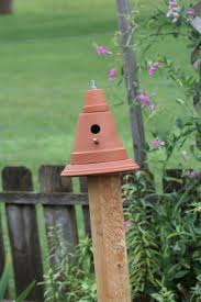 Fence post birdhouse