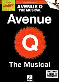Amazon | Avenue Q: The Musical, Vocal Selections | Lopez, Robert, Marx,  Jeff | Musicals & Film