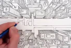 ic book video tutorials one point perspective bird s eye view of a city in this art tutorial the video shows you the basics of