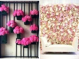 Tissue Paper Flower Wall Art Oil Painting Ideas Flowers Wall Arts Pink Canvas Wall Art Designs