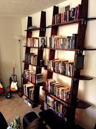 lighting for bookshelves. Picture Of Leaning Bookshelves With LED Lighting For G