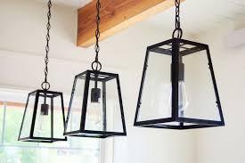 image of farmhouse lighting pendant
