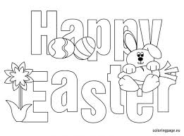 Easter Coloring Pages Online Free Bunny Printable Egg Marvelous