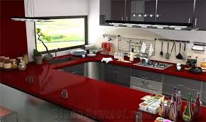 ruby red granite countertop kitchen countertop