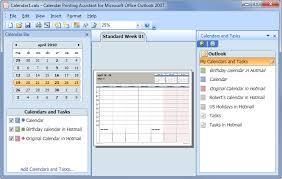 Microsoft Office 2010 Calendar Templates Printing Combined Calendars Msoutlook Info
