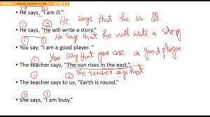 Direct And Indirect Speech In Urdu Hindi Narration In Urdu English Grammar Narration Lec 1