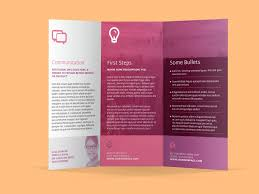 Information Pamphlet Template Three Fold Brochure Template Free New Information Pamphl On Trifold 1