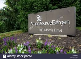 a logo sign outside of the headquarters of amerisourcebergen in chesterbrook pennsylvania
