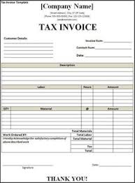 Free Tax Invoice Template Download Excel Format of Tax Invoice in GST GST Goods and 26