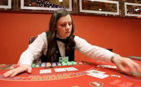 On The Job Kaitlyn Scheffel Blackjack Dealer Jobs And