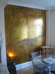 metallic paint walls gold walls