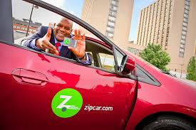 Zip Car on Campus