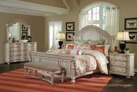 Four Poster Bedroom Sets King Size Storage Bed Set With Mattress For