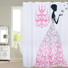 badass shower curtains. Butterfly Princess Shower Curtain Badass Curtains S