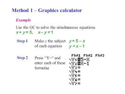 8 method 1 graphics calculator