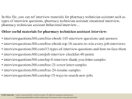 job acceptance letter template interview questions and answers 2 top 10 pharmacy technician assistant interview questions and