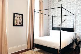 Free Standing Canopy Bed Frame All Platform Bed Frames Near Me ...