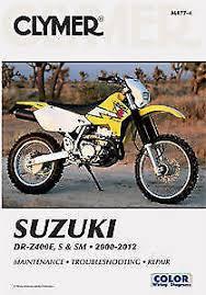 drz manual suzuki drz drz400 drz400e drz400s service repair manual ship
