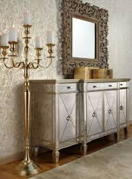make an impact and enlarge your e with mirrors mirrored furniture last day to save on furniture decor find this pin and more on art deco