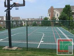 outdoor courts for sport backyard basketball court gym floors images on charming backyard basketball court lighting