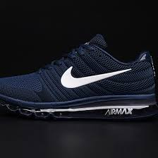 nike shoes logo pictures. nike air max 2017 dark blue white logo men shoes pictures