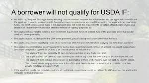 Usda Rural Development Mortgage Training Ppt Download