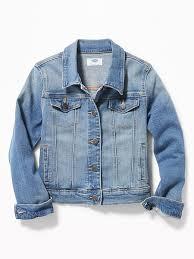 Medium-Wash <b>Jean Jacket</b> For <b>Girls</b> | Old Navy