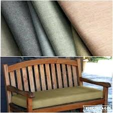 custom bench cushions sunbrella details about custom cast indoor outdoor window seat bench cushion box style