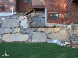 Small Picture Freestanding Rock Wall Design Construction Prime Construction