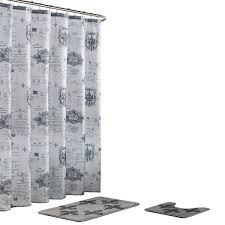 bath fusion fleur de lis 18 in x 30 in bath rug and 72