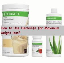 how to use herbalife for maximum weight loss