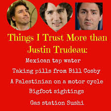 Image result for justin trudeau clown