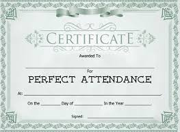 free perfect attendance certificate 21 attendance certificate templates 32318585724 free printable