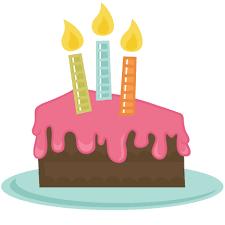 birthday cake slice clipart. Brilliant Birthday Birthday Cake Slice Clipart  Kid Svg Library For TechFlourish