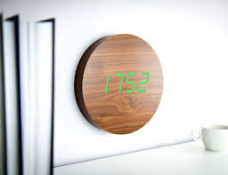 wall clock for office. digital wall clock for office