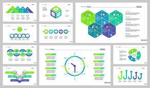 Diez Plantillas De Diapositivas De Marketing Descargar Vectores Gratis