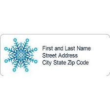 Templates Snowflake Address Labels 30 Per Sheet Avery