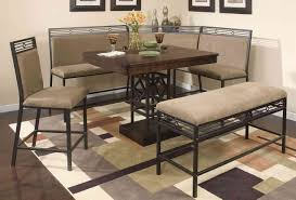Rod Iron Kitchen Tables Corner Kitchen Table Sets Awesome Corner Dining Table Set