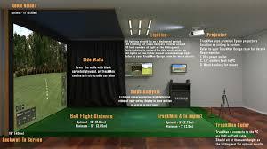 Golf Simulator Lighting Simulator Setup Trackman