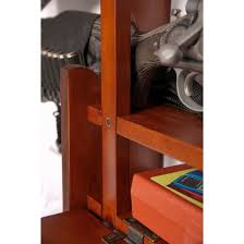 Brown Cherry Wood 4-gun Wall Display Rack - Free Shipping Today -  Overstock.com - 15251175