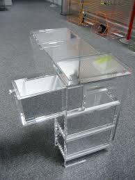 acrylic furniture uk. Clear Acrylic Furniture To Maintain The Look Of Invisibility Drawers Were Lined With Mirror Chairs Ikea Uk N